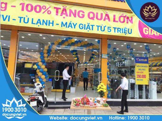 Điện Máy Xanh sử dụng đồ cúng trọn gói của Đồ Cúng Việt