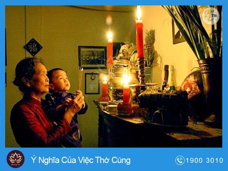 Ý Nghĩa Của Việc Thờ Cúng Trong Tầm Thức Người Việt