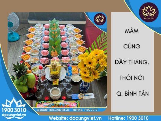 Đồ Cúng Việt - Mâm cúng đầy tháng, thôi nôi quận Bình Tân